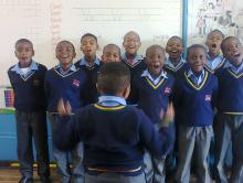 Grade 3 in the classroom