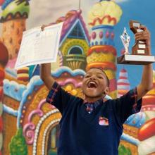 Grade 1-7 Prize Giving