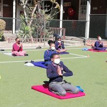 Yoga clas